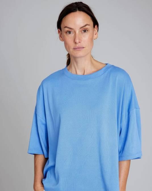 Bilde av Boxy t-shirt provence blue