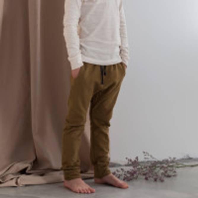 Bilde av DROP-CROTCH SWEAT PANTS