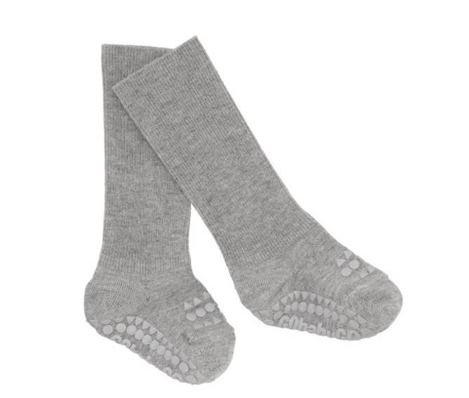 Bilde av Antiskli bambus sokker grey melange